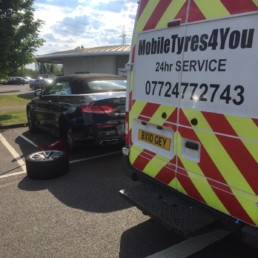 mobile tyres for you 24 hour van
