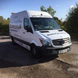 mobile tyres 4 you van in Essex