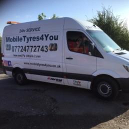 mobile tyres 4 you van