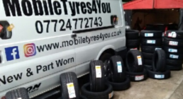 mobile tyres for you van